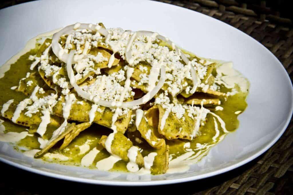 chilaquiles verdes recipe